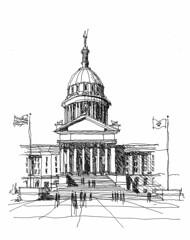 Oklahoma State Capitol,Oklahoma City, OK (Sketchy-G) Tags: oklahoma state capital