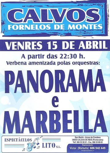 Fornelos de Montes 2011 - Festa da Xuventude en Calvos - cartel
