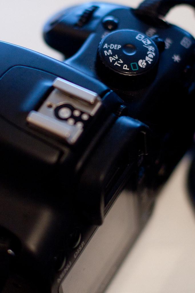Dial canon XSI