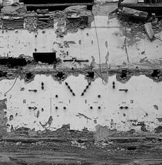 Bratislava- old heating plant (Adam_sen) Tags: blackandwhite 6 industrial tl slovakia pentacon bratislava pentacon6tl carlzeissjenabiometar2880