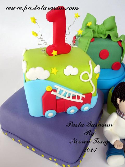 1ST. BIRTHDAY CAKE - DAGHAN