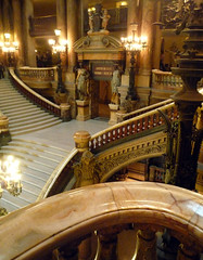 Garnier's Paris Opéra, Looking Down on the Grand Stair