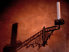 Cloisters (honestys_easy) Tags: shadow architecture candle candleholder candleabra seenonflickr creativephotographynewyorknewyorkcitynyccloisterscloistersmuseummetropolitanmuseummedievalartmedievalarchitectureart pointandshootforttryonparkmanhattan