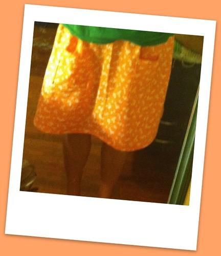 First successful skirt