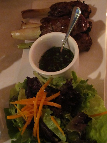 Lemongrass Lamb Lollipops