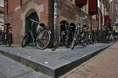 Amsterdam's corner (hanan bercu) Tags: holland amsterdam bicycle corner nikon wideangle 16mm ams amsterdams