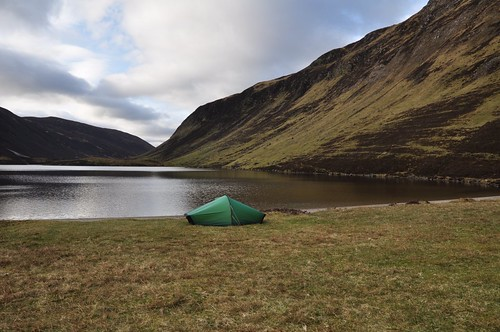 Camp at Loch Loch