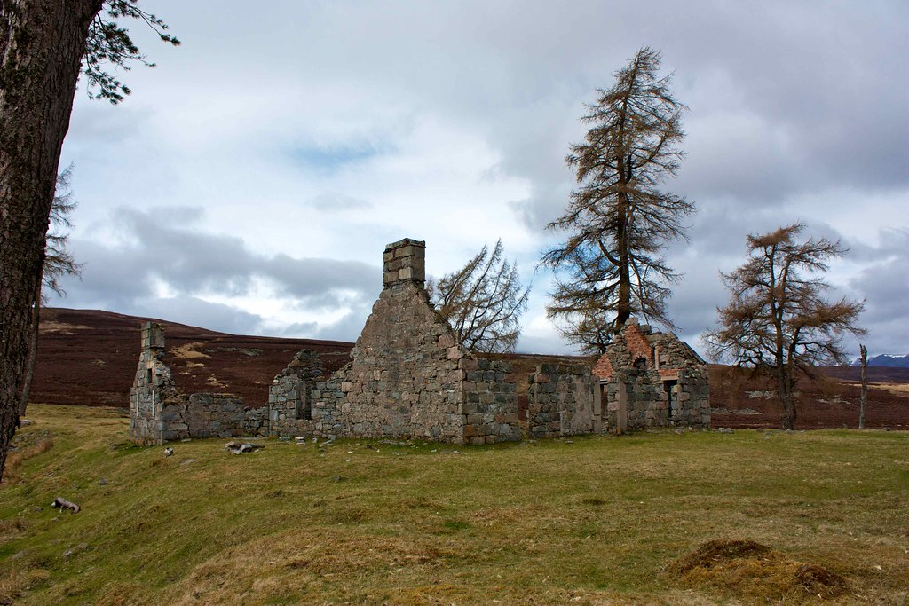 Ruins of Bynack Lodge