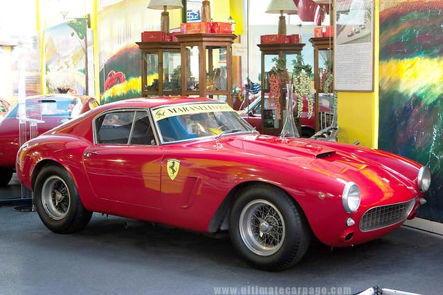 Ferrari 250 GT SWB_Museu Maranello Rosso