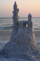 2011 Castle (pangdad_62) Tags: sunset sculpture art beach sand florida siesta sandcastle sculptures sandsculpture sandart siestakey sculpting sandscupture sandsculpting siesatkey