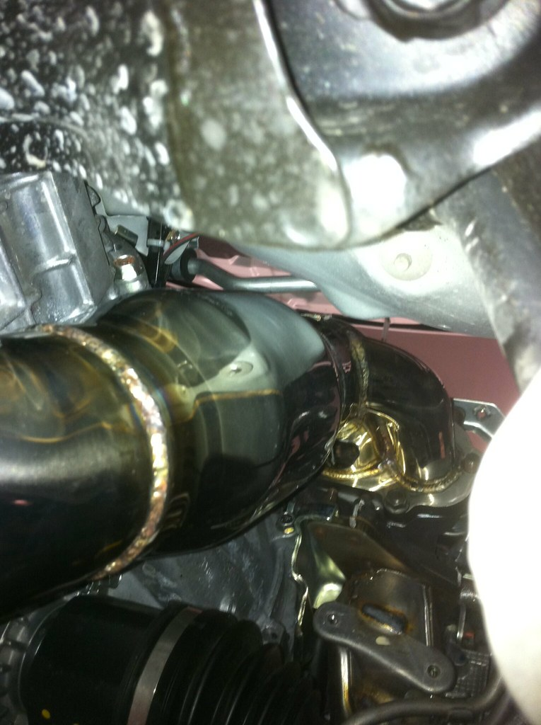 downpipe installer 2011 wrx moteur