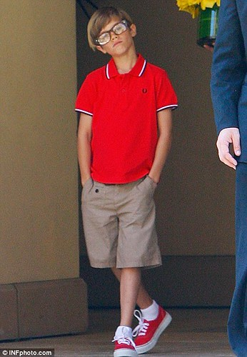 fashion glasses Romeo Beckham