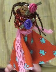 Clothespin Dolls 11 - R's muy bonita senorita