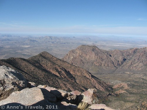 View of the Window from Emory Peak, Big Bend National Park, Texas