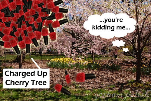 Charged Up Cherry tree