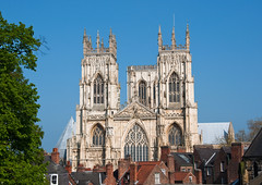 York Minster (jack cousin) Tags: york houses church buildings ancient stonework religion historic roofs minster