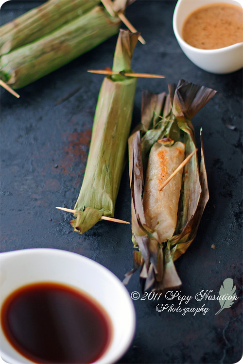 Otak-Otak (Indonesian Grilled Fish Cake)