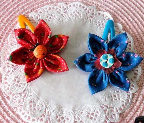 Ganchos em tecido by Fuxiquices-da-isa
