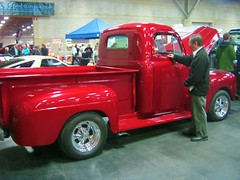 1950 Ford Custom Pickup (blondygirl) Tags: auto ford car auction pickup sa custom 1950 motorshow fordpickup northlands collectorcar expocentre collectorcarauction edmontonmotorshow dealershow edmontonexpocentre 2011edmontonmotorshow