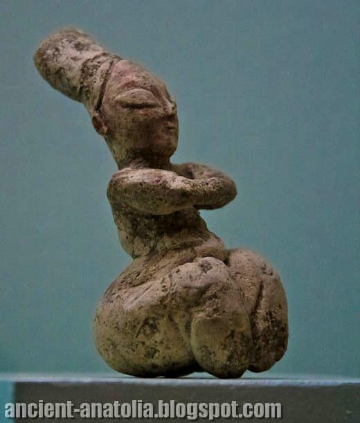 Mother Goddess of Kösk Höyük at Nigde Museum