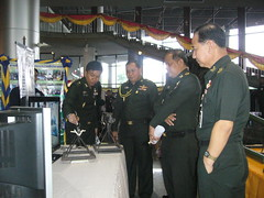 ภาพกิจกรรม จัดนิทรรศการ ณ สโมสรกองทัพบก กทม ( 2 )