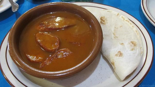 Chorizo norteno appetizer