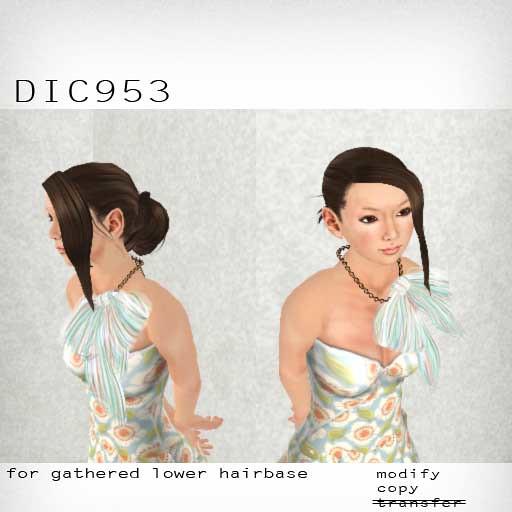 booN DIC953 hair