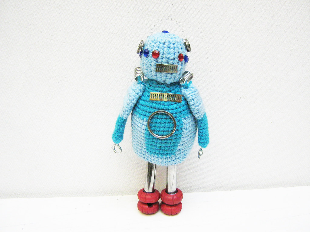 The World\'s Best Photos of crochet and robot - Flickr Hive Mind