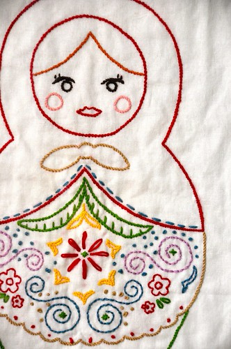 matryoshka embroidery