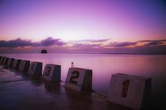 Merewether Ocean Baths (Leighton Wallis) Tags: pool purple lee bigstopper stillmerewethermerewetheroceanbathsmerewetherbeachnewcastlenswaustraliasunrisedawn