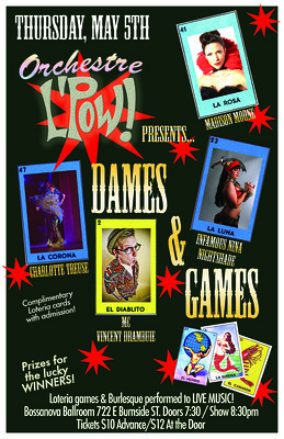 Dames and Games Bossanova