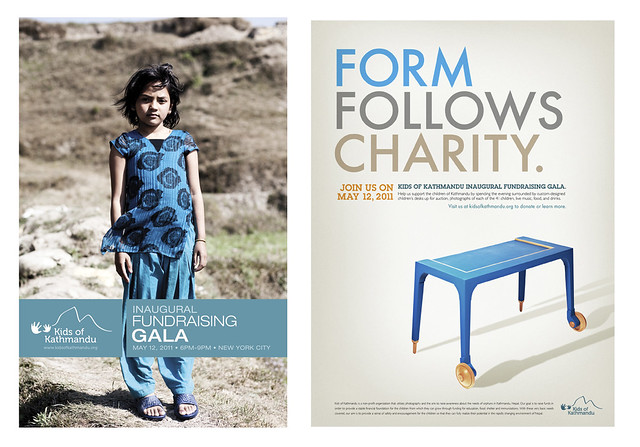 Kids of Kathmandu Desk Project Auction
