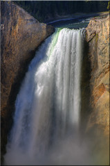 Lower Falls, Yellowstone River (Jill Clardy) Tags: park river waterfall grand canyon falls national yellowstone wyoming lower ynp wy 6541 6543 6542