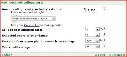How Much Should You Really Save For College? - Good