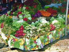 Fresh veg anyone?! (helenoftheways) Tags: vegetables turkey radishes market istanbul cabbage carrots springonions mouthwatering freshvegetables colourfulcolorful
