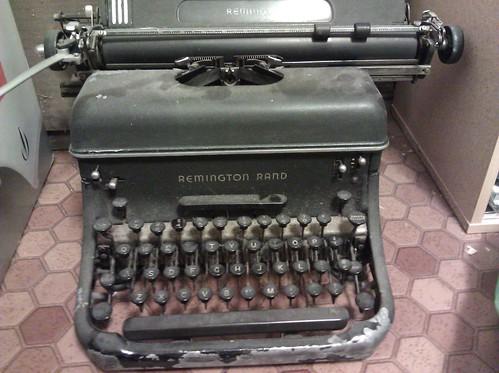 Mechanical typewriter giveaway
