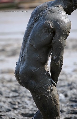 The Mad Maldon Mud Race Easter 2011: Auguste Rodin would be proud