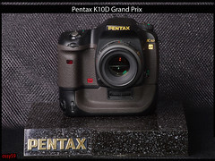 Pentax K10D Grand Prix & smc-F 1,7/50 mm (ossy59) Tags: display pentax grandprix presenter displaystand k10d pentaxlife k10dgp werbeaufsteller smcpentaxf11750mm