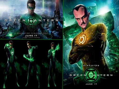 Green Lantern Desktop Wallpaper
