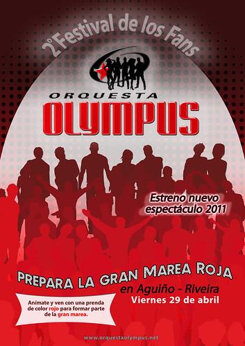 Orquesta Olympus 2011 - Presentación xira Aún más grande