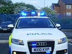 (1068) GMP - Greater Manchester Police - Audi A4 Quattro 4x4 - MX10 KVP (Call the Cops 999) Tags: road station manchester video 4x4 police led april greater a4 audi gmp battenburg unit quattro rpu lightbar 2011 policing chadderton mx10kvp