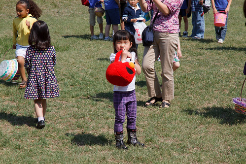 Chinese School Egg Hunt