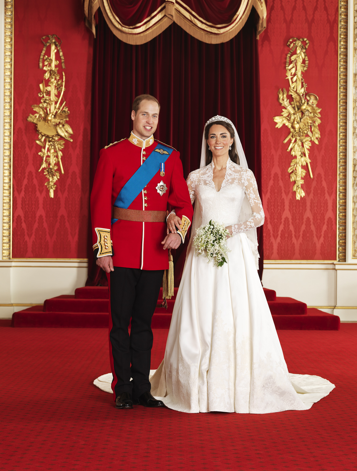 Hugo Burnand: TRH The Duke and Duchess of Cambridge