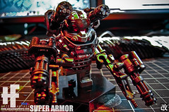 SUPER ARMOR!! (HAZE-1/4cm) Tags: amazing hand parts super system made armor production nightmare minifigs custom armory product ltd accessory