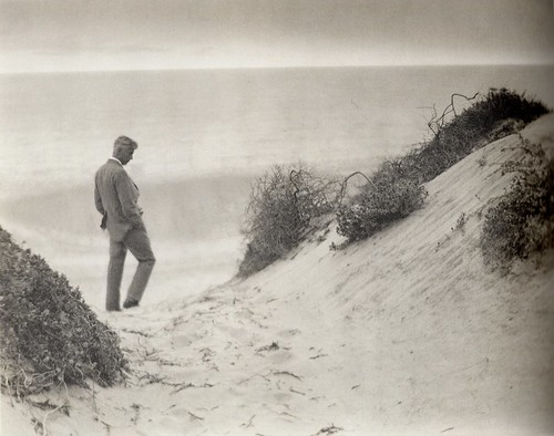 Margrethe Mather & Edward Weston - Max Eastman at Water's Edge (1921)