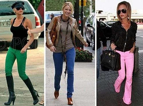 calças skinny 2011