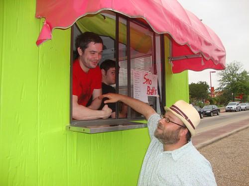 Robert Baucum, Texas Ave Maker's Fair, Spring 2011 by trudeau