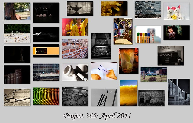 Project 365-2011: April Collage