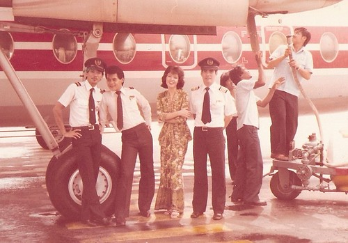 My Crew on Fokker 27