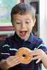 Yay! Donut Time (Sam Howzit) Tags: eating donuts athan april30 2011 dayofthedonut